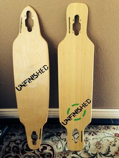 Unfinished Industries Longboards