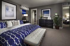Amazing Blue Grey Living Room: Grey And Blue Bedroom. Light Blue ...