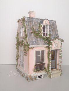 La Vie En Rose Custom Dollhouse by cinderellamoments on Etsy