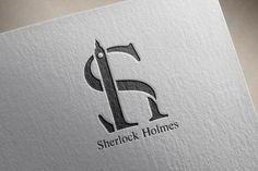 """""""O logotipo Sherlock Holmes foi projetado para exibir o estilo do personagem em que pode-se usa-lo como uma assinatura. A ideia básica é a de monograma, ou seja, um símbolo gráfico, onde você pode combinar duas ou mais letras. Neste caso, existem as iniciais do nome, em que o H cujo cano representa o Big Ben (o símbolo do famoso relógio de Londres onde situa-se o best-seller) é colocado em S."""" Aluno: Itsaac Alves Visite o Behance do criador para mais detalhes."""