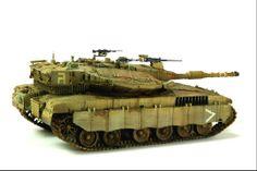 Merkava MK 3D 1/35 Scale Model