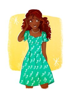 Hazel Levesque in the 1940's from Rick Riordan's Heroes of Olympus fan art drawing by Marion Parajes