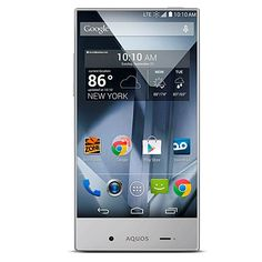 "Sharp AQUOS Crystal 5"" HD No-Contract Android Smartphone with Dual Cameras and App Pack - Boost Mobile at HSN.com"
