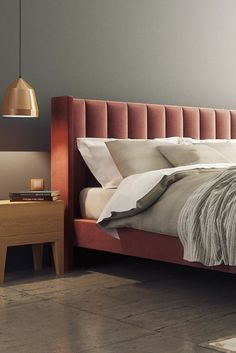Trends You Need To Know Diy Furniture Bedroom Bed Frames Head Boards 3 Bed Headboard Design, Bed Frame And Headboard, Bedroom Bed Design, Headboards For Beds, Bedroom Decor, Modern Headboard, Upholstered Headboards, Luxury Bedroom Furniture, Bed Furniture
