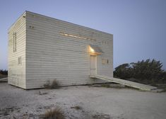 This is a beautiful use of space form a cube Beach House by  Mathias Klotz in Tongoy, Chile  http://www.rolandhalbe.de/
