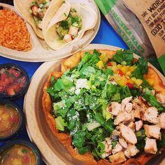 Baja Fresh Salad www.facebook.com/bajafresh Salads, Tacos, Fresh, Facebook, Ethnic Recipes, Food, Essen, Meals, Yemek