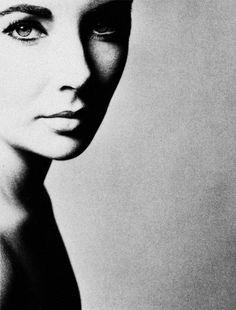 Elizabeth Taylor. Richard Avedon 1958