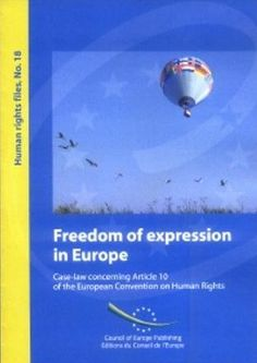 Freedom of expression in Europe