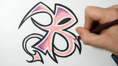 The Ultimate Guide on How to Draw Beautiful Graffiti Letters - http://www.graffitistudio.net/ultimate-guide-draw-beautiful-graffiti-letters #graffiti