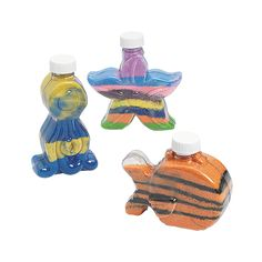 Under The Sea Sand Art Bottles - OrientalTrading.com. Great craft activity.