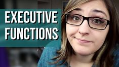 Executive Functions & Autism Autistic People, Executive Functioning, Autism Spectrum, Aspergers, Adhd, Problem Solving, Youtube, Youtubers, Youtube Movies