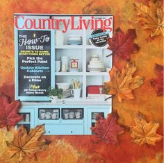 Our September issue is a fun reminder that fall is coming!