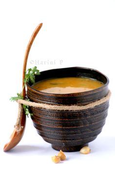 Masoor ki dal ~ Red gram lentil soup