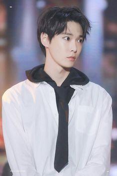 He literally looks like a bunny. *sobs in a corner* Nct 127, Lucas Nct, Yang Yang, Winwin, Mark Lee, Taeyong, Jaehyun, K Pop, Kim Dong Young