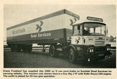 Vintage Trucks, Old Trucks, Old Lorries, Semi Trailer, Commercial Vehicle, Classic Trucks, Rolls Royce, Buses, Delivery