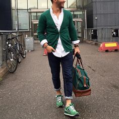 @umitobeyd all #green [ http://ift.tt/1f8LY65 ] casual cool