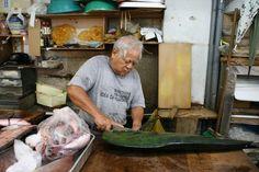 公設市場・魚屋