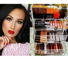 Another stunning beauty Taya Vanessa trusts our Beauty Cases with her Makeup collection. Makeup Videos, Makeup Tips, Hair Makeup, Diy Vanity Table, Beauty Case, Women Lifestyle, Luxury Beauty, Makeup Organization, Makeup Collection