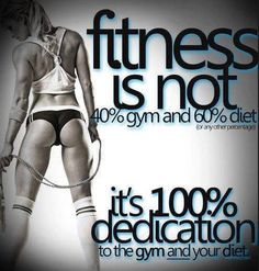 Day 8 Mantra...I missed working out yesterday! That means double time today! 100% Motivation! #Fitness #Hot #Fitnessquotes #motivation