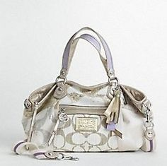 Coach Poppy Denim Patchwork Bag