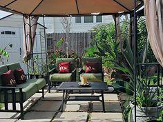 Backyard  Patio with Gazebo