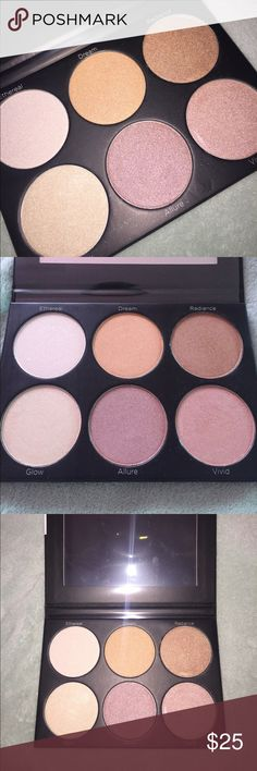 BH Cosmetics Spotlight Palette Beautiful palette by BH Cosmetics, only used to swatch the product besides that never touched! Never got around to use it. Tagged Anastasia Beverly Hills for exposure. First two pictures are not mine but the others are Anastasia Beverly Hills Makeup Luminizer