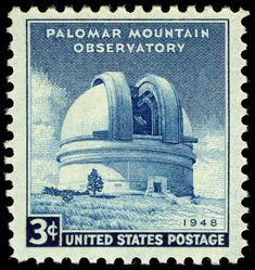 Palomar Mountain Observatory 3c 1948 issue U.S. stamp - Palomar Observatory - Wikipedia Vintage Stamps, Vintage Art, Us Postal Service, Postage Rates, Geology, Wedding Cards, Art Reference, 3c, Foundation