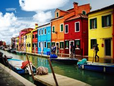 5 Most Colorful Places In The World: Make A Check List Already! Secret Hideaway, Top Destinations, Northern Italy, World Of Color, Places To See, The Neighbourhood, Beautiful Places, Around The Worlds, Venice Italy