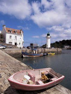 Port de Sauzon à Belle-Ile.