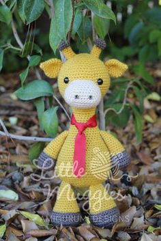 Stanley the giraffe pattern amigurumi