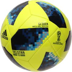 on sale 0ef7a 27857 adidas 2018 FIFA World Cup Glider Soccer Ball - Yellow