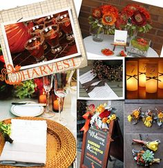 harvest party - would it be weird to have a dozen different fall themed parties this autumn? I love all of the ideas!