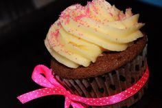 Choc cupcake with Vanilla Buttercream