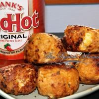 Stuffed Buffalo Chicken Meatballs with Cheesy Ranch Centers - Regular and Super Hot