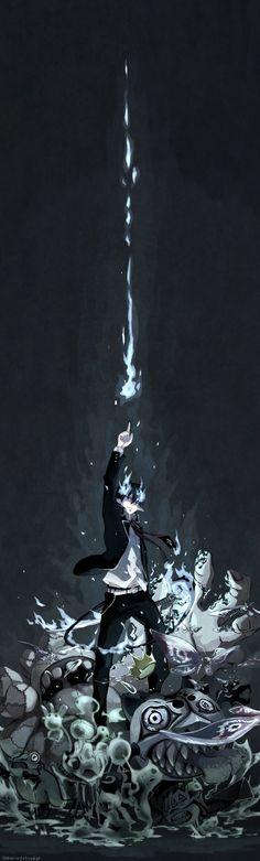Rin Okumura | Ao no Exorcist | Anime & Manga