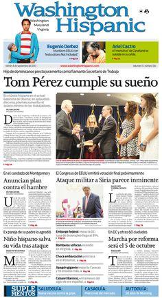 Edición impresa del 6 de Septiembre de 2013: http://washingtonhispanic.com/index.php?mod=historico=304