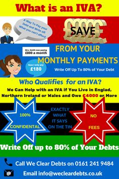 Debt Help With an IVA - http://www.wecleardebts.co.uk/debt-help-with-an-iva/