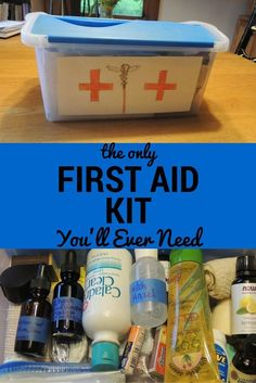 This homemade first aid kit has everything you need for adventurous road trips.