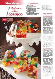 Irresistibles Gelatinas Especial No. 24 - Marmoleadas y en mosaico - Formato Digital - ToukanMango