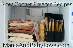 Slow Cooker Freezer Recipes on 100 Days of Real #yummy food #food #Great Food