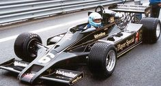 Lotus 78. The first F1 car to use active downforce. Lotus made out that they had invented a new differential. However there was a wing under the car and side skirts to act as an inverse wing. Another Chapman innovation. The were banned in 81.