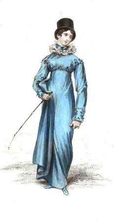 Riding Dress, La Belle Assemblee May 1816.