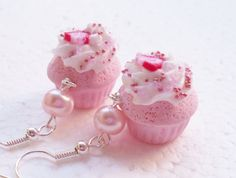 Hey, I found this really awesome Etsy listing at https://www.etsy.com/listing/223501648/strawberry-cupcake-earrings-polymer-clay