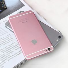 Could this be the new pink colorway for the iPhone 6S? Source: @wsj