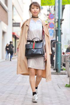 Naru   Apr. 2017   Shibuya   Tokyo Street Style   Shoulder Bag ~ ZARA