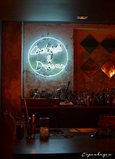 Cocktails and dreams at Madklubben's Bar Next Door, Copenhagen
