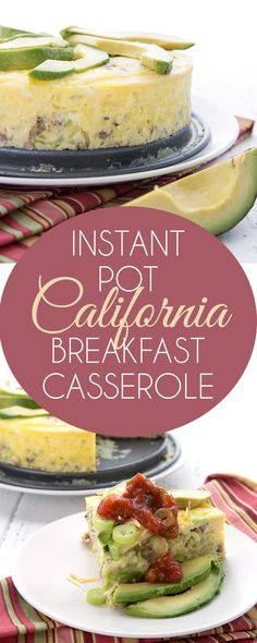 19 mai 2018 - This delicious low carb Instant Pot breakfast casserole is made all the healthier by using shredded broccoli stems in place of the hash browns. Super nutritious and it reduces food waste! A perfect keto breakfast recipe. Low Carb Breakfast, Breakfast Recipes, Nutritious Breakfast, Atkins Breakfast, Breakfast Toast, Ketogenic Recipes, Low Carb Recipes, Keto Foods, Mackerel Recipes