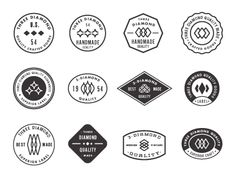 Dribbble - Badges by Aaron Eiland