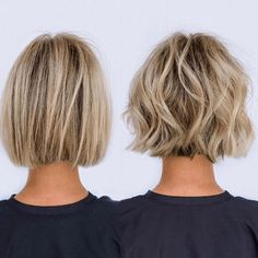 Hottest Totally Free From soft blunt to textured bob in about 10 min From soft blunt to textured bob. Thoughts Who created the Bob hairstyle? Bob has been leading the league of tendency hairstyles for decades. Best Bob Haircuts, Bob Hairstyles For Thick, Easy Hairstyles, Hairstyle Short, School Hairstyles, Office Hairstyles, Anime Hairstyles, Stylish Hairstyles, Girl Hairstyles