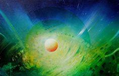 PAVLOVIC, DRAZEN: Sfera F - oil - 33x50 cm
